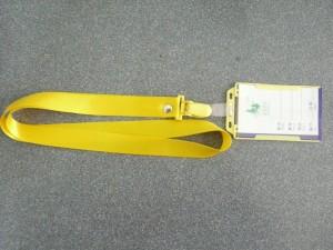 dây đeo thẻ bao thẻ nguyên bộ -màu vàng