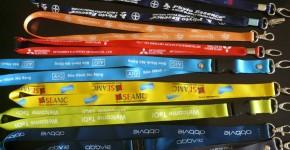 DÂY ĐEO THẺ SONY DHL ABBIE AIG KERRY Dây đeo thẻ hội nghị, hội thảo, triển lãm, sự kiện, event
