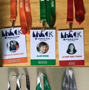 Dây đeo thẻ hội nghị, hội thảo, triển lãm, sự kiện, event HACKATHON, OPPO