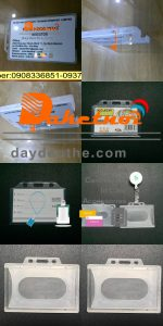 DÂY ĐEO THẺ BỘ CAO CẤP gồm dây đeo thẻ yoyo co rút bao chứa thẻ