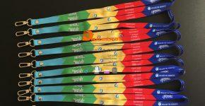 Dây đeo thẻ Pepsi dây satanh 1.5cm x90 móc oval , in nhiệt chìm 2 mặt