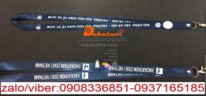 dây đeo thẻ sự kiện event hội nghị hội thảo triễn lảm 2 đầu móc size 2cm