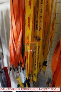 Dây đeo thẻ màu cam vàng ISV DHL GSK