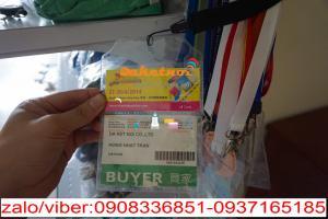 Bao đeo thẻ -bao dựng thẻ nhân viên ngang dọc ,1 mặt hay 2 mặt