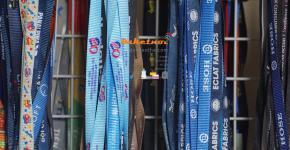 Dây đeo thẻ xanh đen ,dây đeo thẻ xanh ngọc , dây poly nylon satanh 1.5cm 2cm 1cm