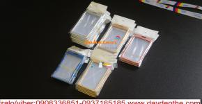 Bao chứa thẻ kim loại - bao đeo thẻ , bao đựng thẻ cao cấp 2 mặt trong suốt
